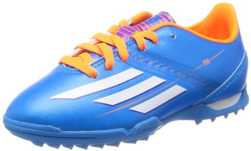 adidas F10 TRX TF J Jungen Fußballschuh-Blue-36