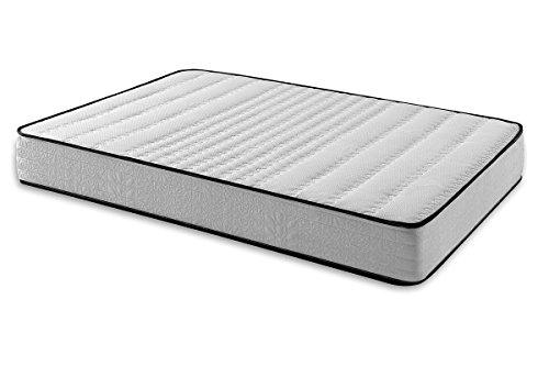 Sleepens - Materasso Naturclass Memory foam di schiuma HR con densità alta, altezza - 19 cm, letto 100 cm, 100 x 180 cm. Tutte mesure.