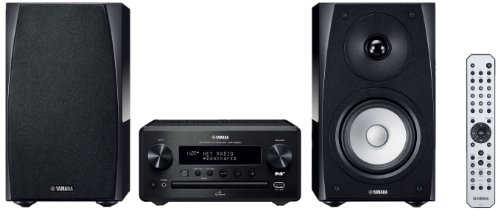 Yamaha PianoCraft MCR-N560D Kompaktanlage (Netzwerk, AirPlay, App Steuerung, CD, DAB+ Radio, USB) schwarz/klavierlack schwarz