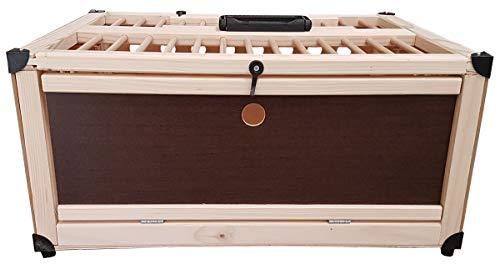 Hemel Transportkiste aus Holz für Tauben - 1 Abteil