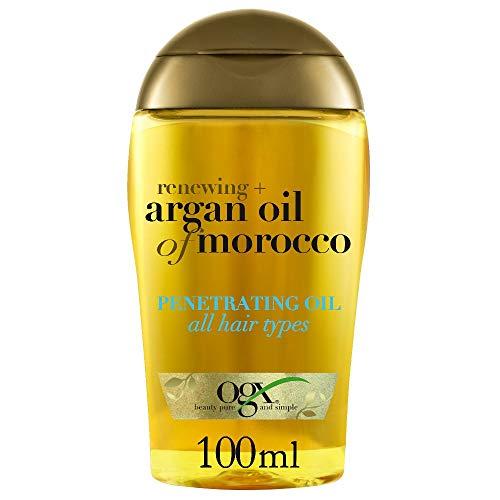 OGX Olio Penetrante Renewing + Argan Oil Of Morocco, 100 ml