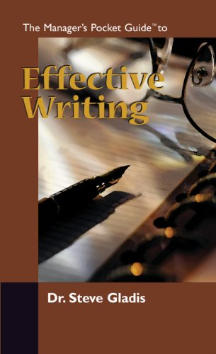 The Manager's Pocket Guide to Effective Writing (Manager's Pocket Guide Series) (English Edition)