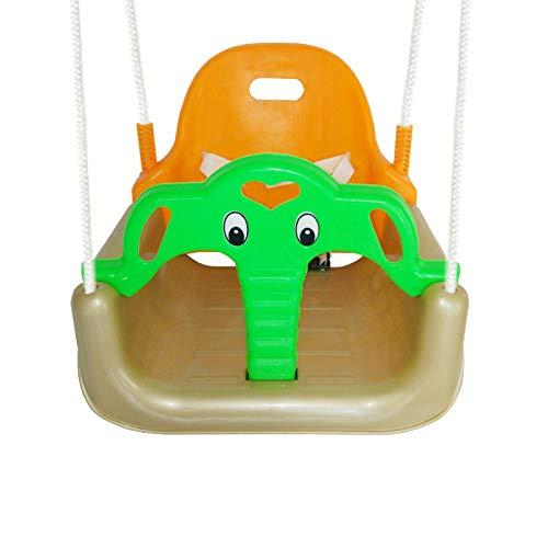 DONG Columpio para Niños De Plástico Bebé Jardín Swing Asiento Infantil De...