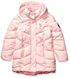 US Polo Association Girls' Big Outerwear Jacket (More Styles Available), Blush, 7/8