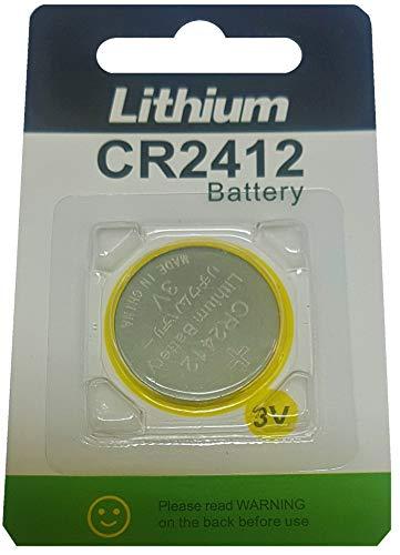 1 x CR2412 3V Lithium Knopfzelle 100 mAh (1 Blistercard a 1 Batterien) Put