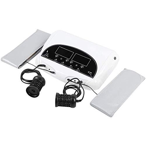 Joyfitness Professional Dual Foot Massager, Electric Foot Massager Foot Tub Foot SPA Bath Detox Foot Tub Lonic Detox Foot Bath Spa Machine, with Far Infrared Waist Belt