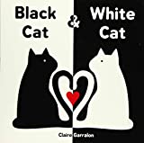 Image of Black Cat & White Cat: A High Contrast Sensory Board Book About Opposites For Newborns and Babies