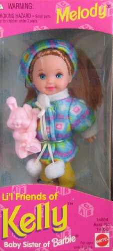 Barbie - Li'l Friends of Kelly - Melody Doll - 1995