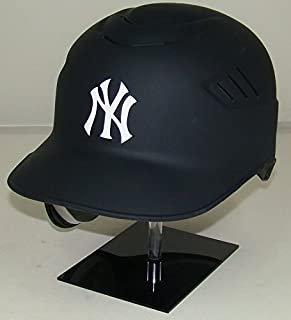 New York Yankees Matte Navy MLB New Coolflo Style Official Authentic Batting Helmet (for Left Handed Batter)