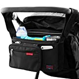 Bag Nation Universal Stroller Organizer Caddy Featuring Cup...