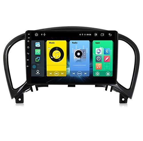 HARBERIDE Android Car Stereo Radio De Coche 9 Pulgadas Unidad Principal Reproductor Multimedia Receptor De Video Carplay para Nissan Juke YF15 2010-2014 Autoradio Mit Navi,C500