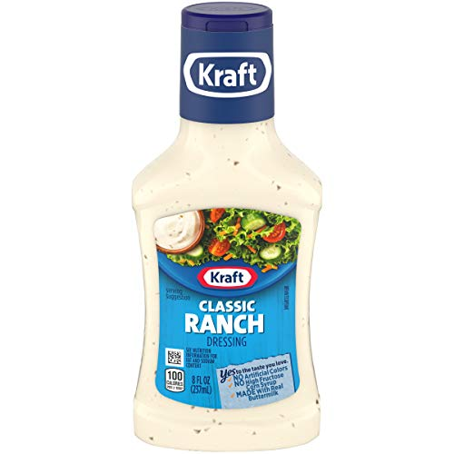 Kraft Classic Ranch Salad Dressing (8 fl oz Bottle)
