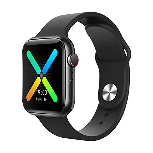 Montre Connectée X8 pour Homme Femme Enfant, Moniteur de Fréquence Cardiaque, Podomètre, Calories, Montre de Sport Bluetooth étanche IP67, avec écran HD de 1.54' (Noir)