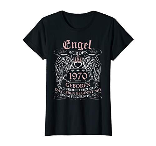 Damen 50 Geburtstag Geschenk Frauen Jahrgang 1970 50 Jahre 50er T-Shirt