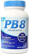PB8 Acidophilus Probiotic 120 Count, (Value Pack of 4)