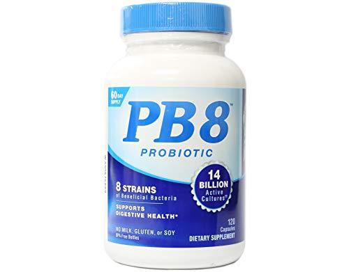 Nutrition Now Pb 8 Pro-biotic Acidophilus for Life - 120 Capsules X 2