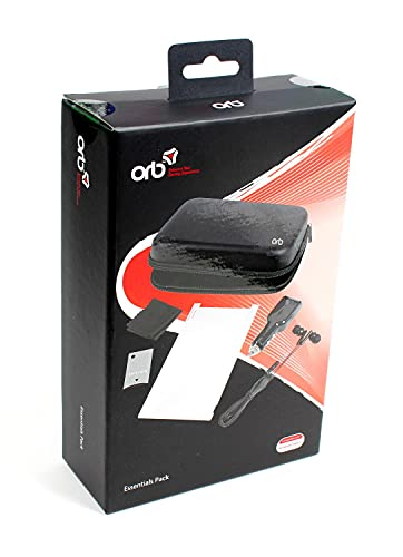 Kit para viagem: Case, Carregador, Headphones, Protetor de tela & Cleaning Cloth Nintendo Switch