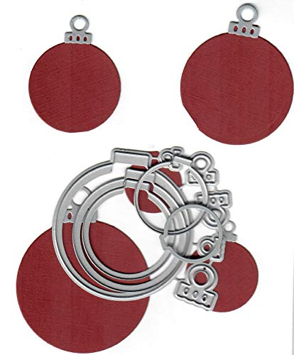 Dies to die for Metal Craft Cutting die - Christams Ornaments Round Nesting Set