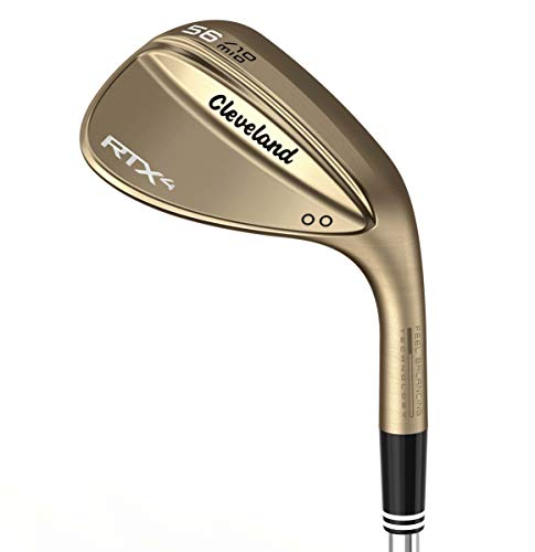 Product Image 4: Cleveland Golf Men's RTX 4 Wedge Raw Finish 58 Full Raw Finish Wedge, Right Hand