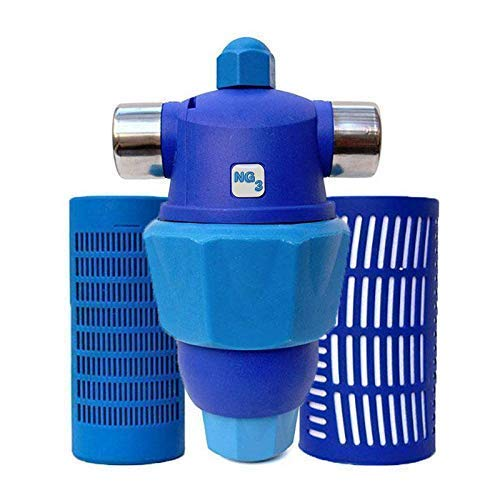 Hardless NG3 Whole House Water Filter and Water Conditioner Bundle with Additional Cartridge and Post Filter - Advanced Water Softener Alternative - Compact, Salt Free, Reduces Limescale and Sediment