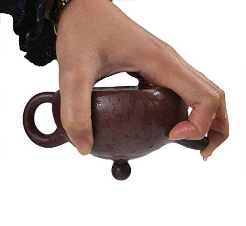Chinese Yixing Purple Clay Handmade Half Moon Tea Pot Zisha Zi Ni Teapot 200cc