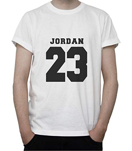 DreamGirl Basketball Memorabilia. NBA Inspired Artwork. Jordan 23 Mens T-Shirt XX-Large