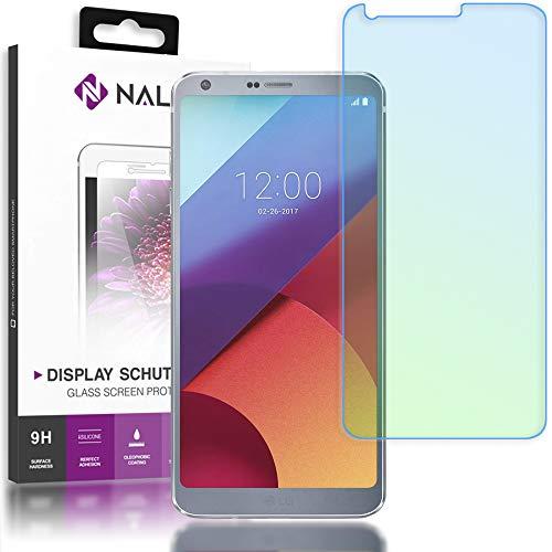 NALIA Cristal Templado Compatible con LG G6, Vidrio Blindado Película Protectora 9H Dureza Film Cobertura, LCD Touch Screen-Protector de Pantalla Movil Telefono Celular Tempered-Glass - Transparente