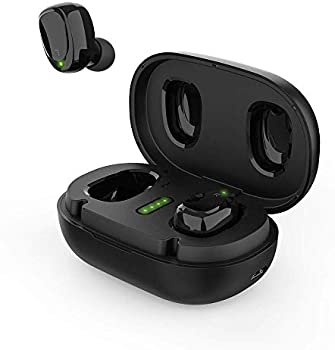 Bnchi In-Ear True Wireless Earbuds with Metal Charging Case
