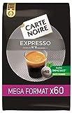 Carte Noire - Café Torréfié Moulu Expresso N°8 - 60 Dosettes Espresso Individuelles Souples