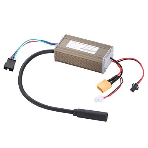 Controlador de Scooter eléctrico de 36 V, Piezas de Repuesto del Panel del Controlador a Prueba de Agua para Scooter eléctrico Kugoo S1 S2 S3 (Plateado)