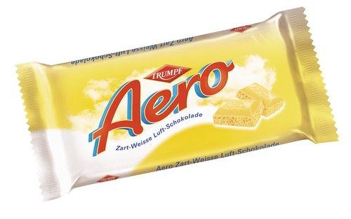 Trumpf Aero zartweiss,Luftschoko, 15er Pack (15 x 100 g Packung)