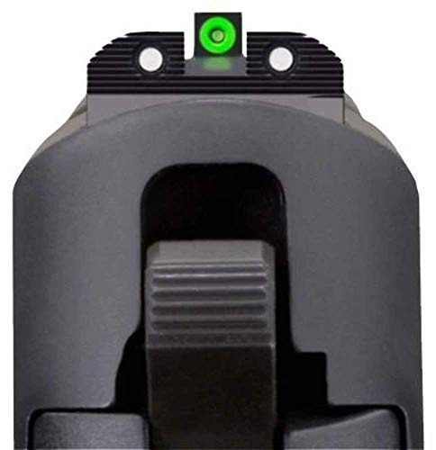 Sig Sauer (SOX10001) X-Ray Enhanced Visibility Sight Square Notch Set, Green