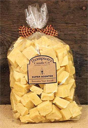Thompson's Candle Co Super Scented Crumbles/Tarts/Wax Melts 32 oz. 'Banana Nut Bread '