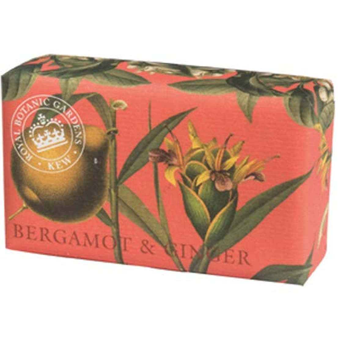 解くレール契約するEnglish Soap Company イングリッシュソープカンパニー KEW GARDEN キュー?ガーデン Luxury Shea Soaps シアソープ Bergamot & Ginger ベルガモット&ジンジャー