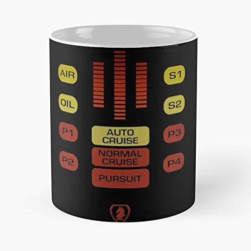 Retro Michael Television Knight SciFi Tv Rider Cine Kitt Series Best 11oz cerámica taza de café