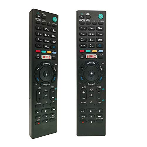 New Replacement Remote Control Fit for SONY Bravia Smart TV - No Setup Required Universal Remote Control