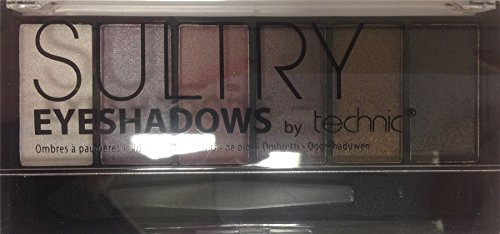 Technic Sultry 6 Colour Eyeshadow Palette - Mulberry