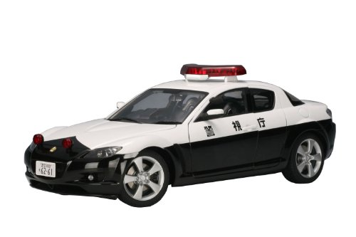 Price comparison product image AUTOart 1 / 18 Mazda RX-8 Police Car (Metropolitan Police Department)