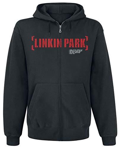 Linkin Park Meteora Red Männer Kapuzenjacke schwarz S