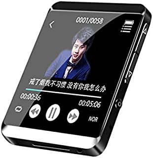 RUIZU M5 Sport Bluetooth MP3 Player Full Touch Screen Mini Clip Music Player with FM,Recording,E-Book,Clock,Pedometer (8GB...