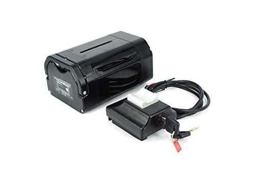 PowerSmart® 36V 14Ah 504Wh E-Bike, Pedelec, Multi-fit Panasonic Zellen Batterie Akku Kit Umbausatz, inkl.Halterung