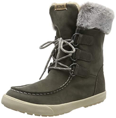 Roxy (ROY11) Rainier-Snow Boots for Women, Bottes de Neige Femme, (Charcoal Chr), 40 EU