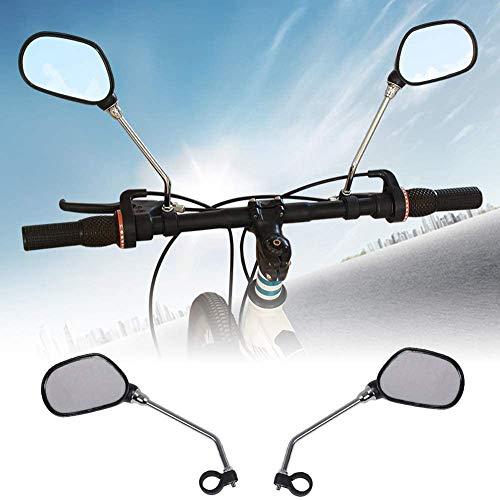 FlyCloud Bike Mirror 1 Pair, Rear View Mirror