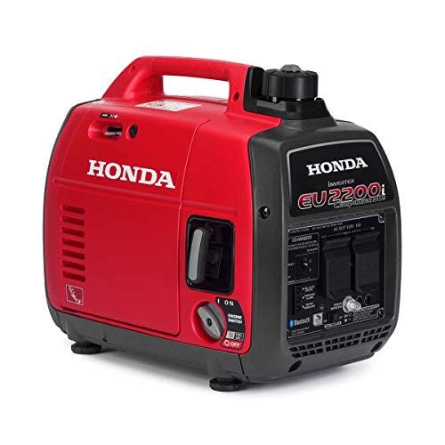 Honda EU2200i 120V 2200-Watt 0.95 Gallon Companion Portable Inverter Generator with Co-Minder - 49-State