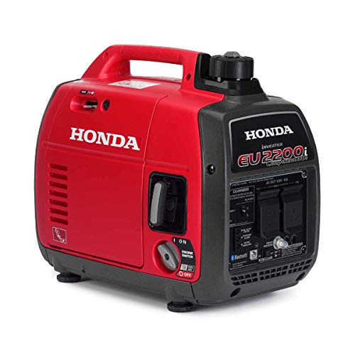 Honda EU2200iTAG1 2200-Watt 120-Volt Companion Super Quiet Portable Inverter Generator with CO-Minder