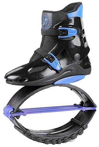 Unisex-Antigravitationlaufstiefel für Erwachsene, zum Rennen, Springen und Hüpfen, mit ca. 20 bis 100kg belastbar XL schwarzblau