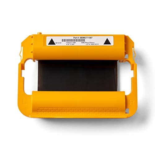 Zebra Standard Black Wax Ribbon Cartridge for ZD420C Thermal Transfer Desktop Printer 4.33in x 242ft 02000CT11007
