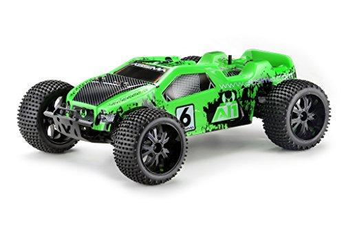 Absima Hot Shot Series 12202–Allrad RC Auto 1: 10Elettrico Truggy AT14WD RTR compreso NiMH Batteria e Caricatore