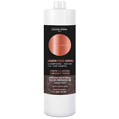 Essentiel Keratin Frizz Control Shampooing Soin 2en1 Dompte la matière pour cheveux épais, bouclés, rebelles 1000ml