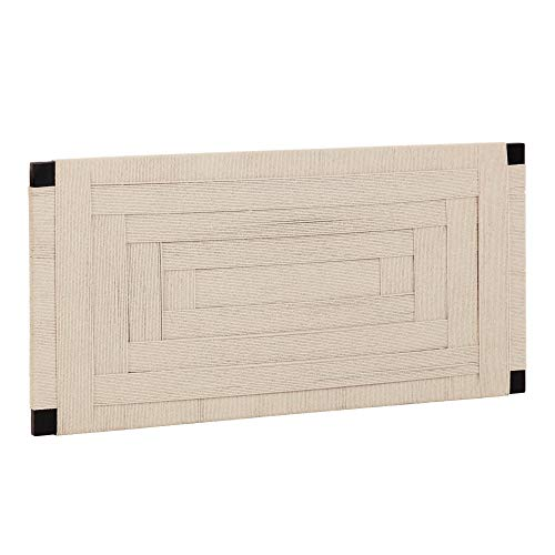 Kave Home - Cabecero Shami de Madera Maciza de Acacia 164 x 80 cm